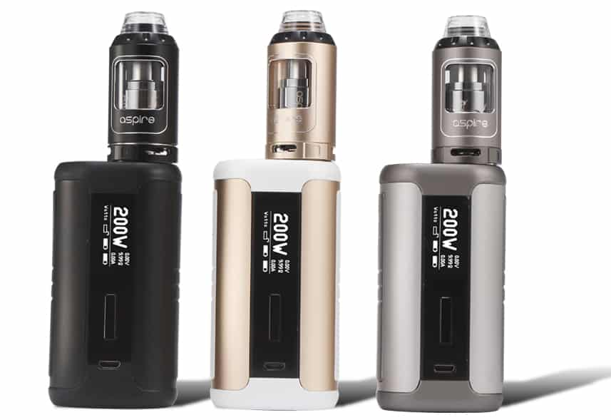 Aspire Speeder 200W TC startkit