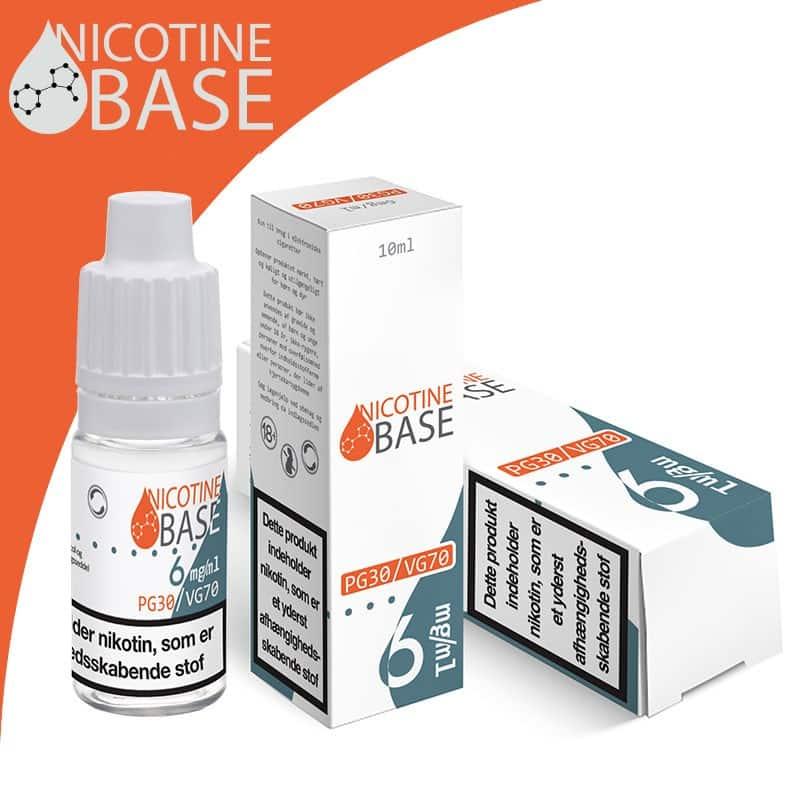 5b7afe444147 10ml Nicotine Base PG50 VG50-0Mg-18Mg -
