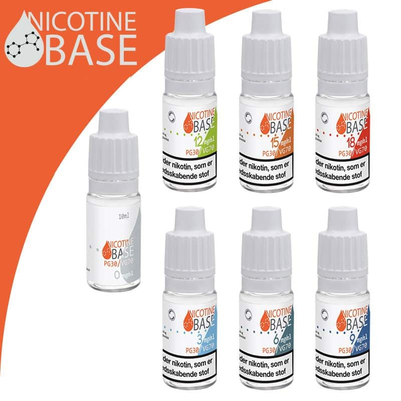 10ml Nicotine Base PG30:VG70