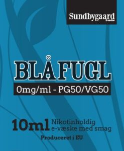 Blå Fugl Sundbygaard E-væske