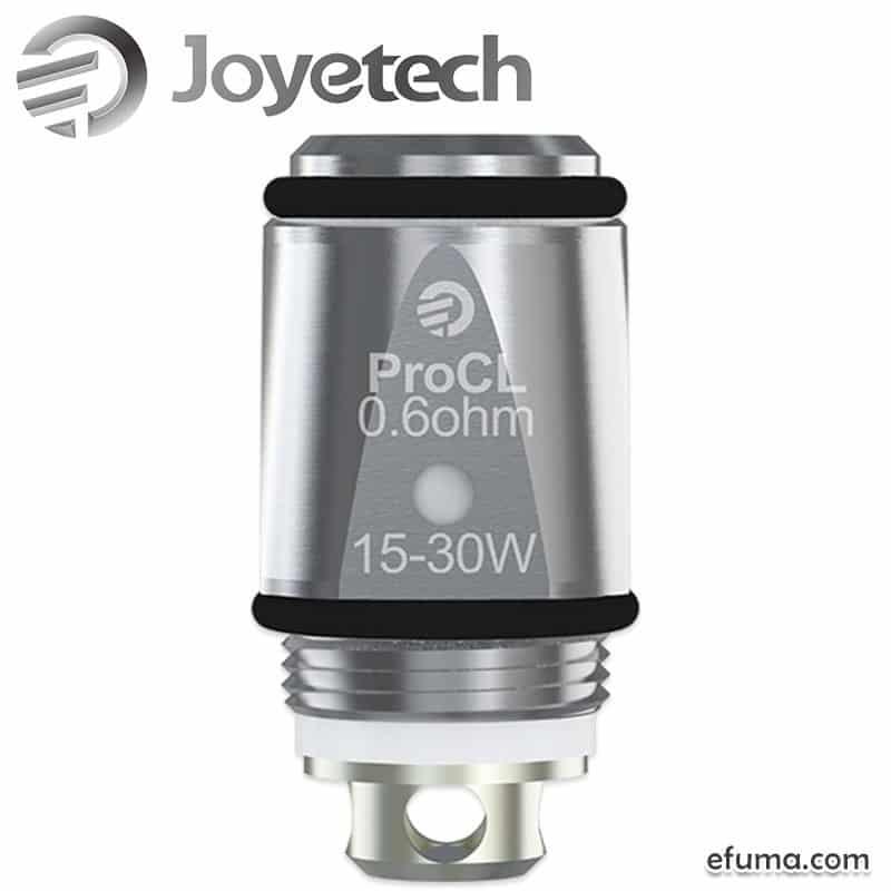 Joyetech ProCL Head coil 5 stk - Coils i top kvalitet til de billigste priser!