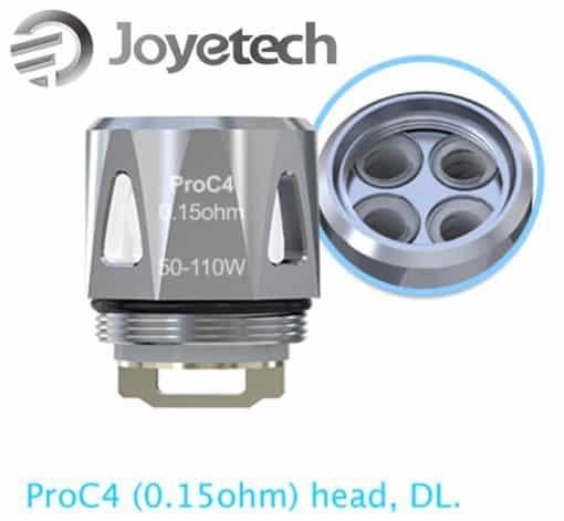 ProC4 DL Head til ProCore Aries, 0.15ohm 5 stk